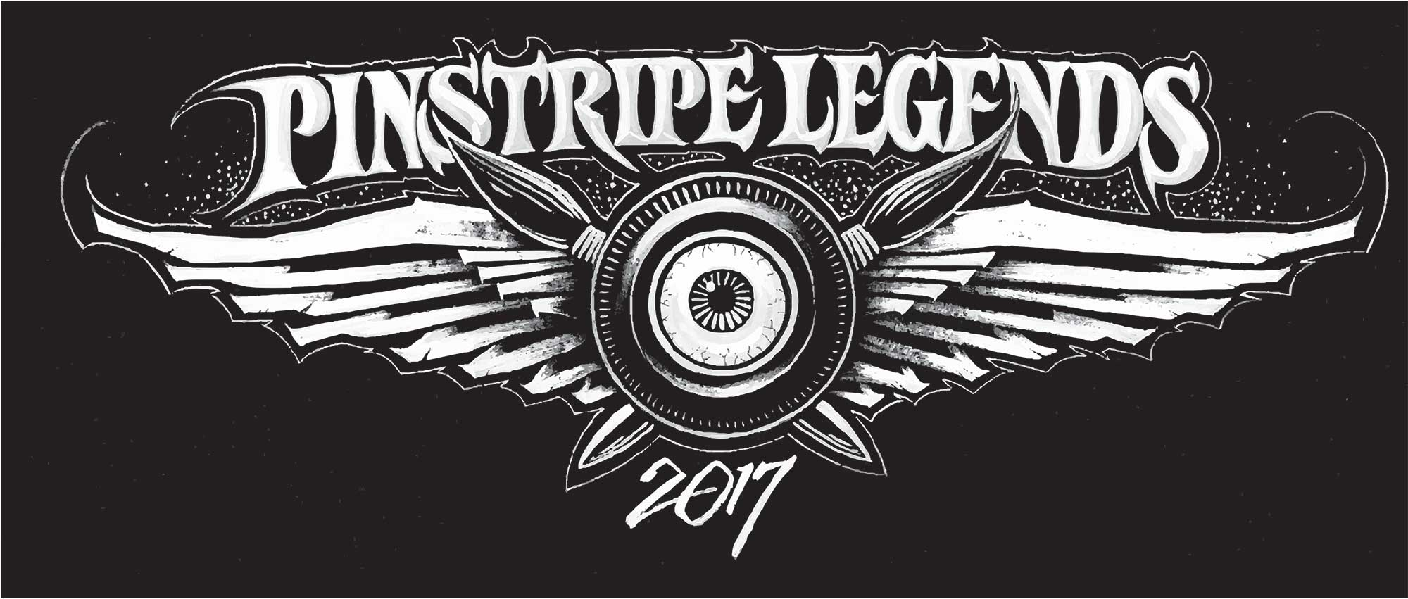 2017 Pinstripe Legends Logo Art